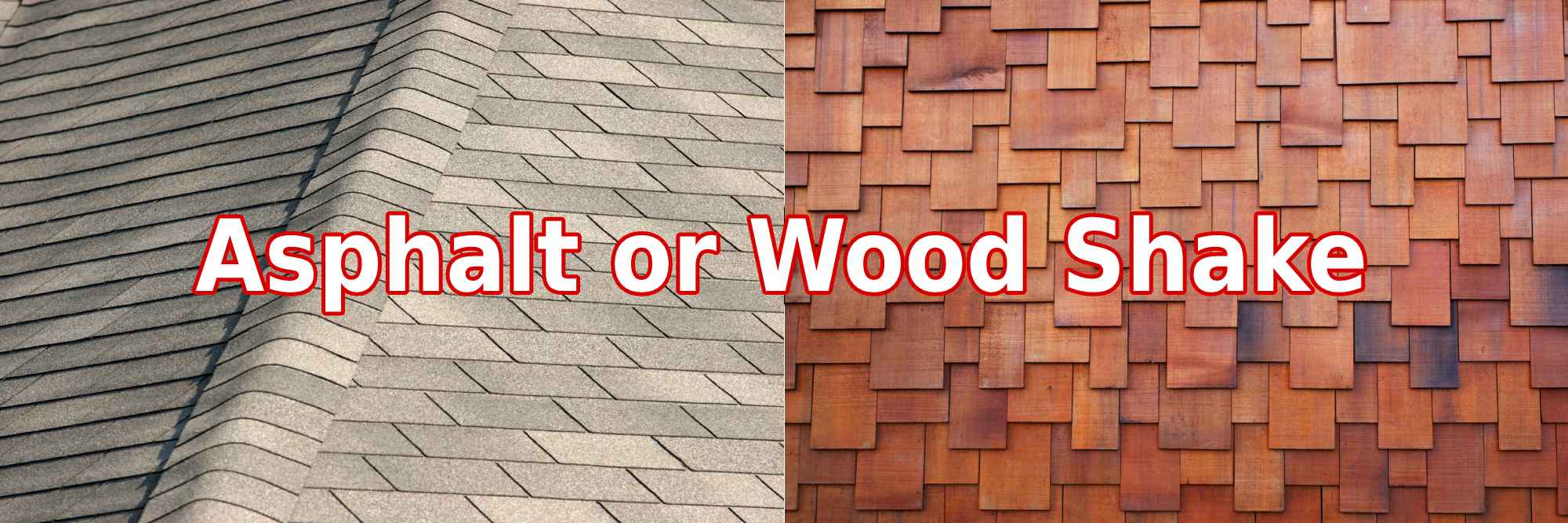 Asphalt or Wood Shake Quiz